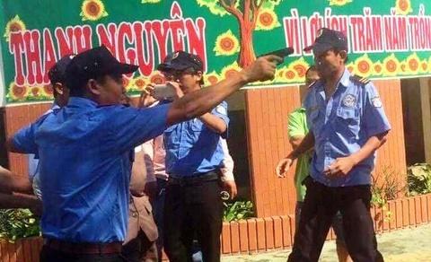 Chia sung, cong tay chu truong o Binh Thuan: Quan tai vien la ai? hinh anh