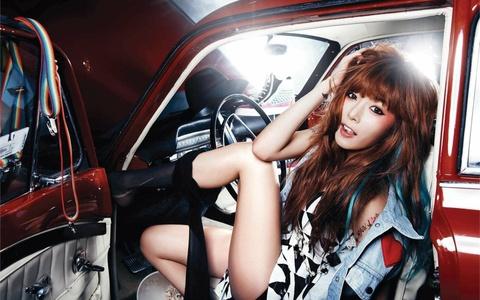 HyunA (4minute) xin loi vi qua goi cam hinh anh