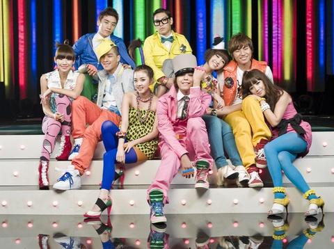 Nghi an Big Bang va 2NE1 bat tay hop tac hinh anh
