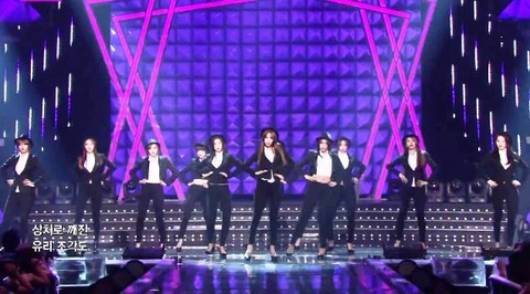 Girl's Day, AOA, BESTie cover Mr.Mr (SNSD) hinh anh