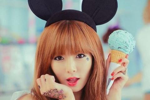 1.000 nguoi xin nhay phu hoa cho HyunA (4minute) hinh anh