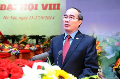 Ong Nguyen Thien Nhan tiep tuc lam Chu tich MTTQ Viet Nam hinh anh