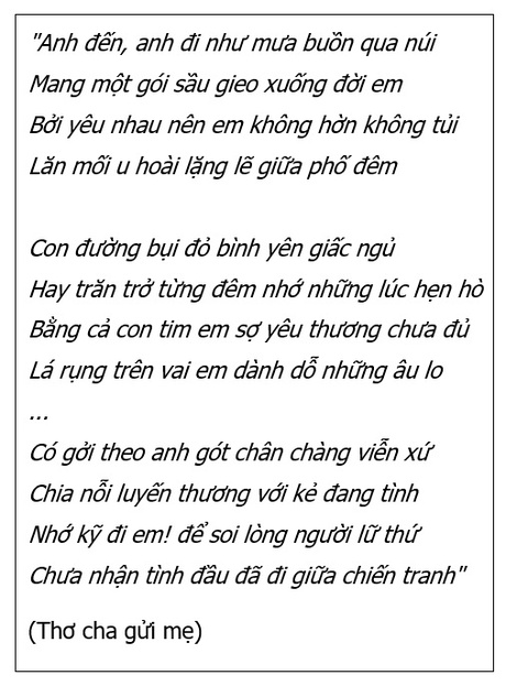 Chang can nhu ngon tinh, chi mong yeu thuong gian di va mai mai hinh anh 2