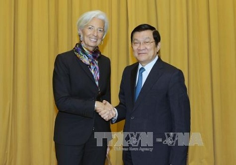 IMF de nghi Viet Nam tang nang suat lao dong hinh anh