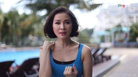 Tap Yoga cung MC Thanh Mai: Giam dau vai, moi lung hinh anh