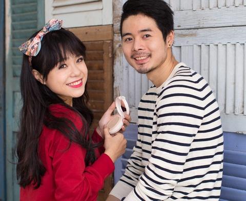 Thai Trinh cap ke hot boy Top Model trong MV Valentine hinh anh