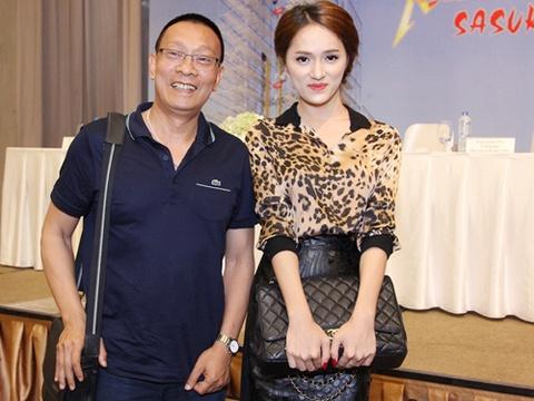 MC Lai Van Sam treu Huong Giang Idol nen thi nhay day hinh anh
