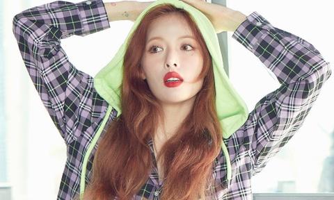 'Nu hoang goi cam' HyunA ky niem 12 nam theo showbiz hinh anh