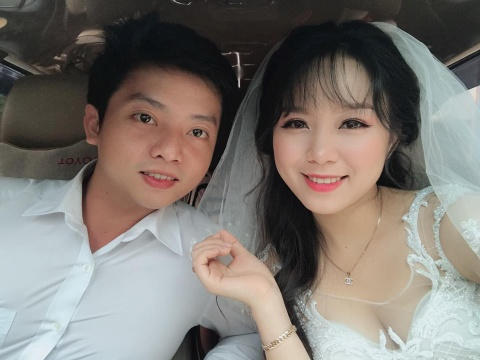 Dam cuoi hanh phuc cua doi tre Can Tho yeu nhau qua mang hinh anh
