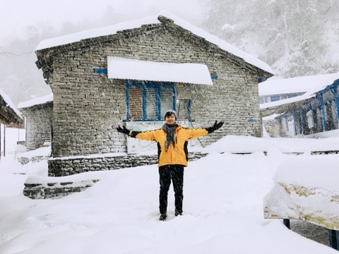 #Mytour: Thoa nguyen trekking thien duong nui tuyet Nepal hinh anh 15