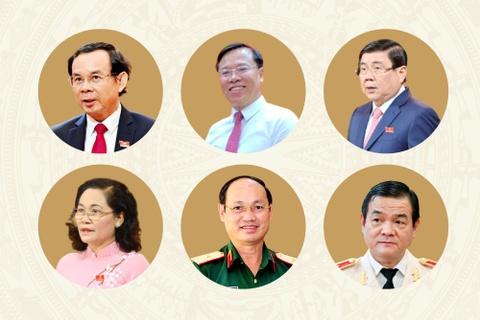 Ban Chap hanh Dang bo TP.HCM nhiem ky 2020-2025 hinh anh