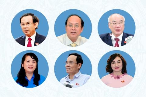 Ban Thuong vu Thanh uy TP.HCM nhiem ky 2020-2025 hinh anh