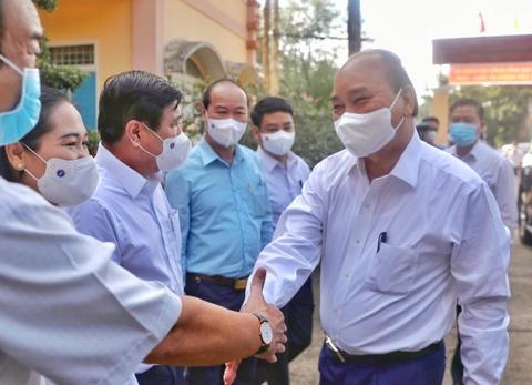 Chu tich nuoc Nguyen Xuan Phuc: Phai dua Cu Chi di len hinh anh