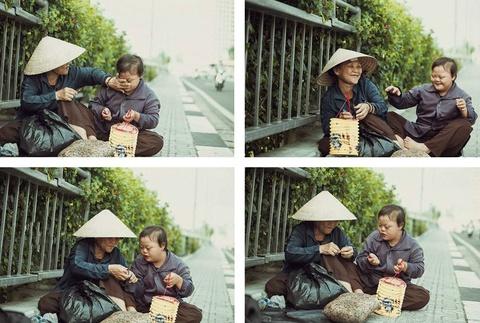 Be gai don Trung thu cung me ben le duong Sai Gon hinh anh 7