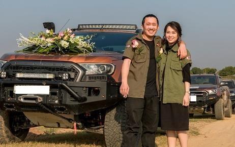 Chu re Hai Phong mac do ham ho, don dau bang dan 50 xe ban tai hinh anh
