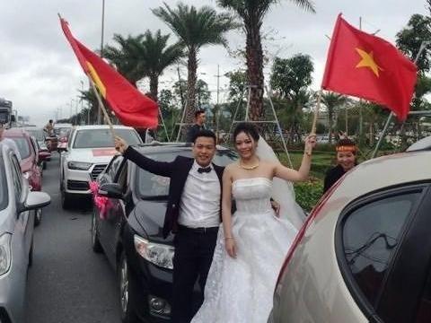 Nhung dam cuoi 'co mot khong hai' tai Viet Nam hinh anh