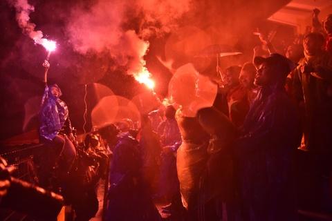 Không khí sôi động khắp cả nước trong trận chung kết AFF Cup