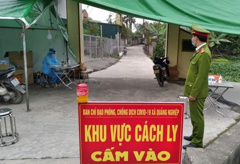 Nhan vien y te o Hai Duong mac Covid-19 hinh anh