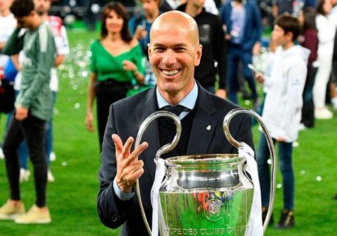 Zidane: Buong tay de lam nguoi chien thang vi dai nhat o Real hinh anh