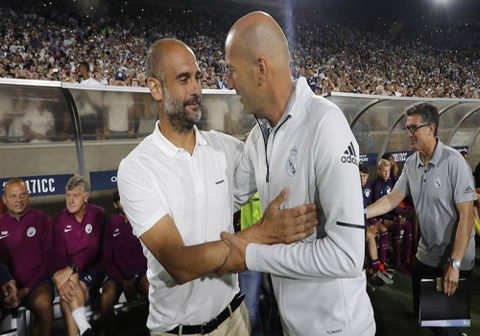 Pep Guardiola: 'Nhung gi Zidane lam tai Real that dang nguong mo' hinh anh