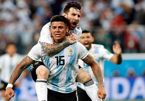 Rojo tiet lo 'than chu' cua Messi giup Argentina gianh chien thang hinh anh