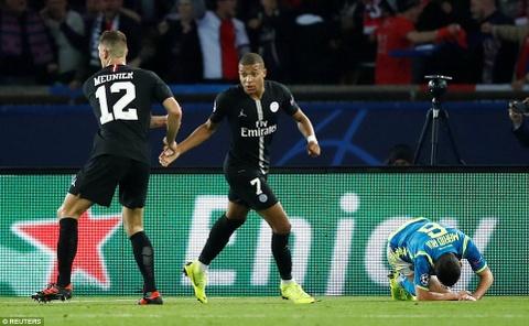 PSG hoa Napoli 2-2: Tien mua duoc Neymar nhung dang cap thi khong hinh anh 3