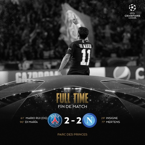 PSG hoa Napoli 2-2: Tien mua duoc Neymar nhung dang cap thi khong hinh anh 1