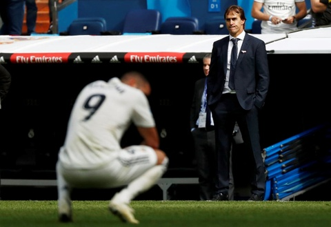 Dang cap cua Real Madrid bien mat khi Ronaldo ra di hinh anh