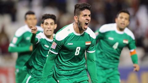 Iraq - doi thu cua tuyen Viet Nam trong tran ra quan o Asian Cup 2019 hinh anh