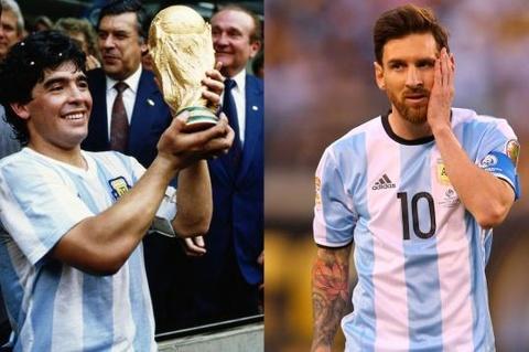 Zico: 'Diego Maradona hay hon Lionel Messi' hinh anh