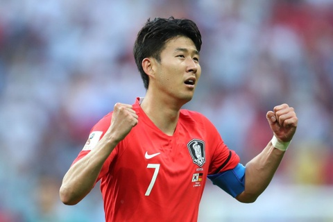 Son Heung-min toa sang giup Han Quoc chiem ngoi dau bang C Asian Cup hinh anh