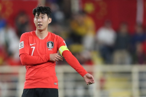 Son Heung-min khong vo dich Asian Cup bay gio thi bao gio hinh anh