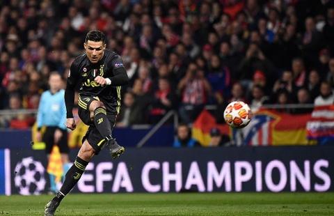 Juventus thua Atletico Madrid: Ronaldo va 112 trieu euro bi lang phi hinh anh 1
