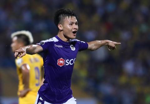 Quang Hai ghi ban, CLB Ha Noi loi nguoc dong truoc Hai Phong hinh anh