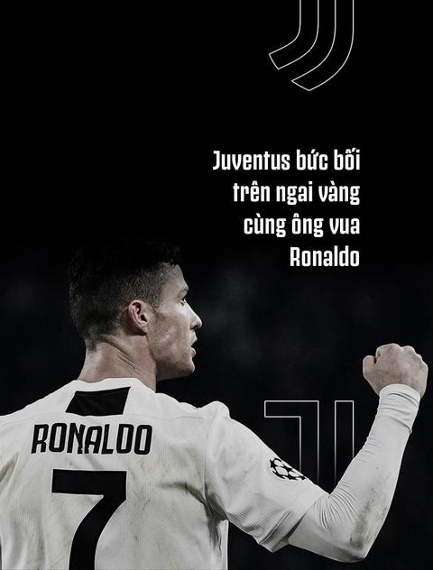 Juventus buc boi tren ngai vang cung ong vua Ronaldo hinh anh 1
