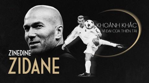 Zinedine Zidane va khoanh khac vi dai cua thien tai hinh anh 2