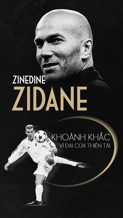 Zinedine Zidane va khoanh khac vi dai cua thien tai hinh anh 1