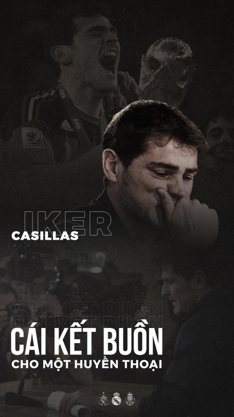 Iker Casillas giai nghe: Cai ket buon cho mot huyen thoai hinh anh 1