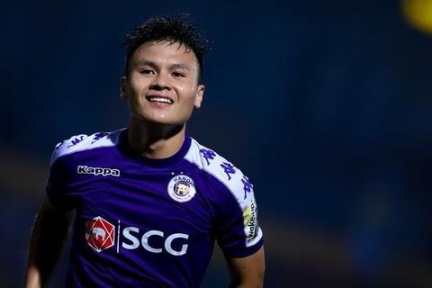 Quang Hai lap cu dup, CLB Ha Noi thang Altyn Asyr 3-2 tai AFC Cup hinh anh