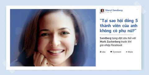 Sheryl Sandberg - nu chu nhan thuc su cua de che Facebook hinh anh 7