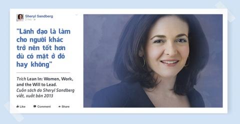 Sheryl Sandberg - nu chu nhan thuc su cua de che Facebook hinh anh 11
