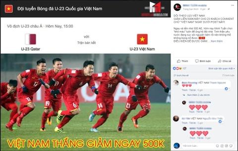 Mang xa hoi bung no sau chien thang cua U23 Viet Nam hinh anh