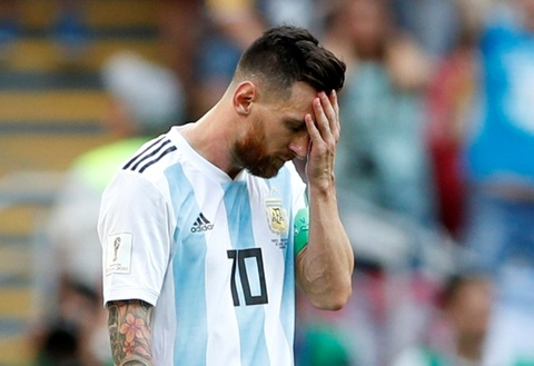 Messi that vong trong ngay Argentina bi loai khoi World Cup hinh anh 4