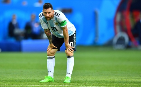 Messi that vong trong ngay Argentina bi loai khoi World Cup hinh anh 7
