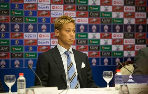Keisuke Honda doi dau doi tuyen Viet Nam tai AFF Cup 2018? hinh anh