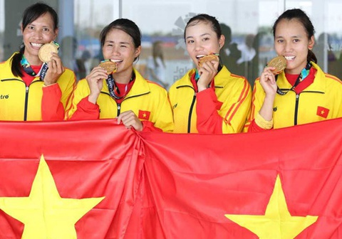 Chien thang cua DT rowing Viet Nam hoan toan ap dao truoc doi thu hinh anh