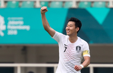heung min son hinh anh