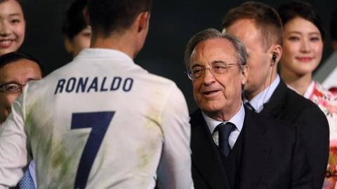 Chu tich Perez: 'Chung toi khong he muon ban Ronaldo' hinh anh