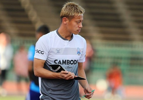 Keisuke Honda the khong bao gio quay lai J.League choi bong hinh anh