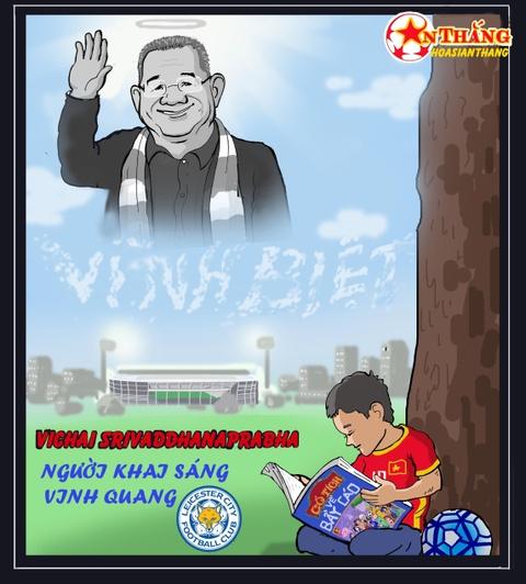 Chu tich Vichai - khi anh sang vinh quang cua Leicester vut tat hinh anh 3